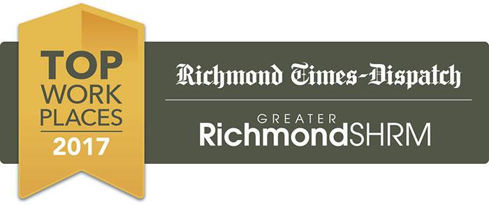 2017 Richmond Times Dispatch Award