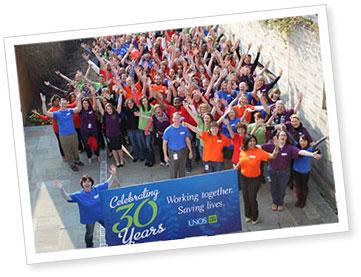 UNOS celebrates its 30 year anniversary.