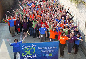 UNOS celebrates 30 years of working together and saving lives (Photo: UNOS)