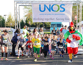 Sign up now for the 2017 United for UNOS Fun Run & 5K