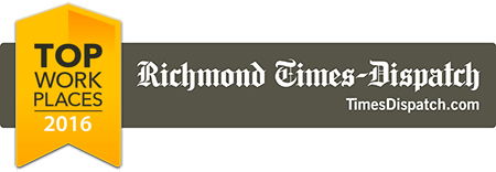 2016 Top places to work in Richmond, VA